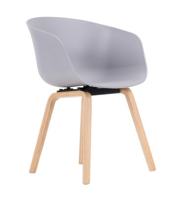 Krzesło LCN BOVO szare