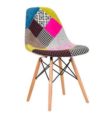 Krzesło patchwork TDF Storm 01