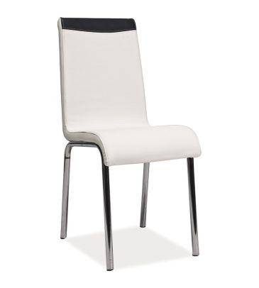 Krzesło Signal H-161 biało-czarne