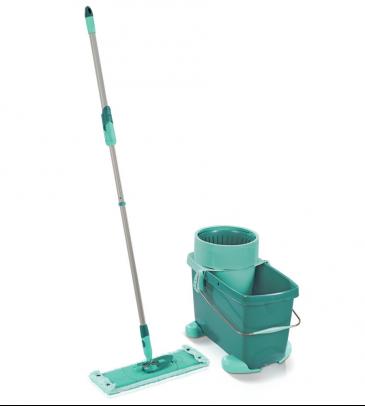Zestaw Clean Twist XL Leifheit 52049 mop z wyciskaczem, wiadro + wózek, sito