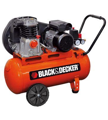 Kompresor olejowy 50L Black & Decker BMDC504BND014 z pompą pasową
