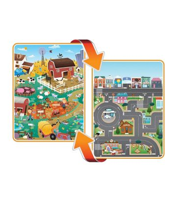 Mata Prince Lionheart playMAT 7711 farm/city