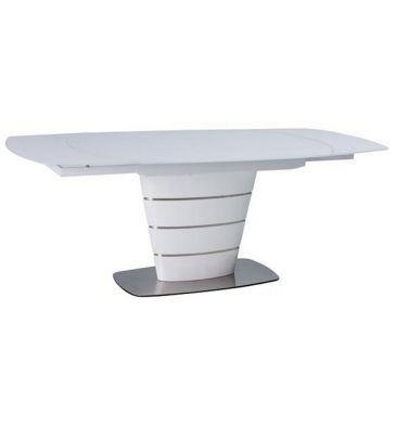 Stół rozkładany Signal Aurelio biały 140x100