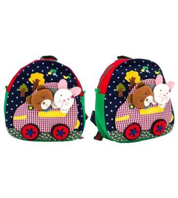 Plecaczek dziecięcy 3+ Cole bunny car