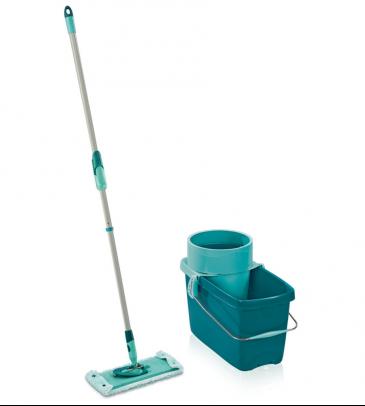 Zestaw Clean Twist M Leifheit 52014 mop w wyciskaczem, wiadro i sito