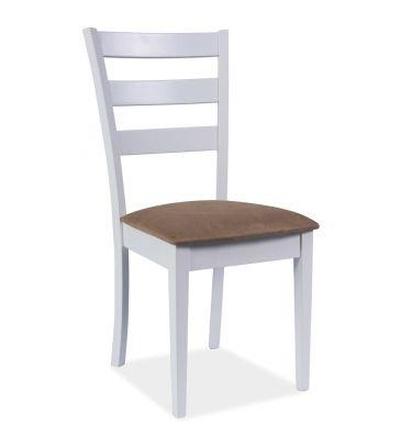 Krzesło Signal CD-86 biały/beż