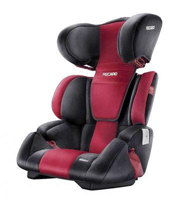 Fotelik samochodowy 15-36 kg Recaro Milano ruby