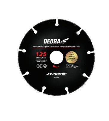 Tarcza do cięcia drewna DEDRA HR1002 125mm/22,2mm