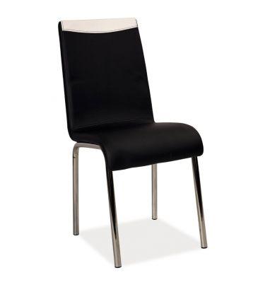 Krzesło Signal H-161 czarno-białe