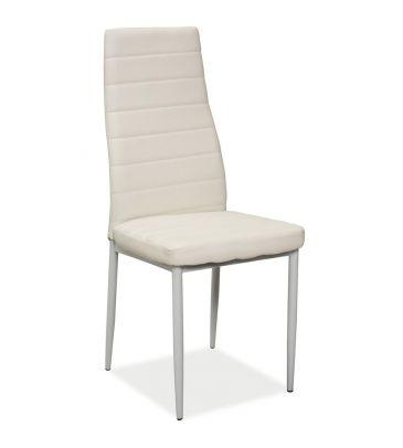 Krzesło Signal H-261 białe/białe nogi