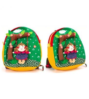 Plecaczek dziecięcy 3+ Cole swing green