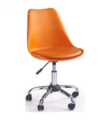 Fotel obrotowy Halmar Coco pomarańczowy