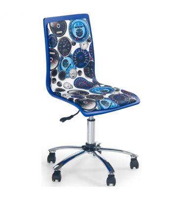 Fotel obrotowy Halmar FUN-8 niebieski