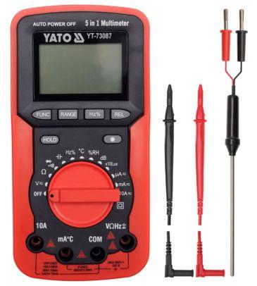 Miernik cyfrowy / Multimetr 5w1 YATO YT-73087