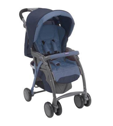 Wózek spacerowy Chicco Simplicity Plus Top blue