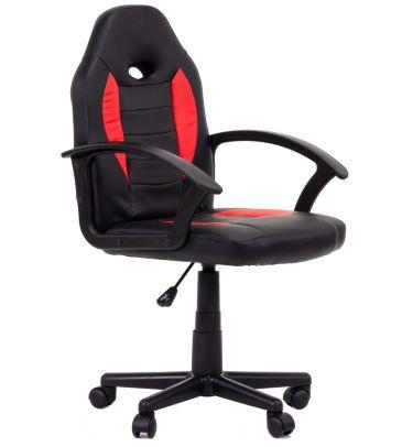 Fotel obrotowy MSH Gioco black/red