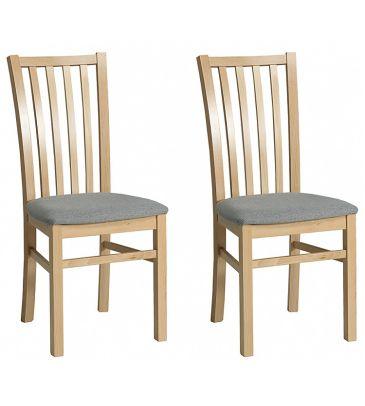Krzesło 2 szt. Forte Dan KR0117-D55-IN90