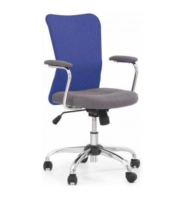 Fotel obrotowy Halmar Andy niebieski