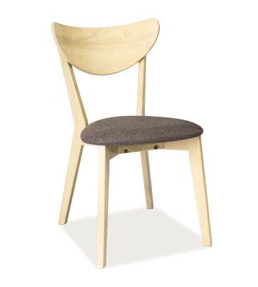 Krzesło Signal CD-37 dąb bielony/szary