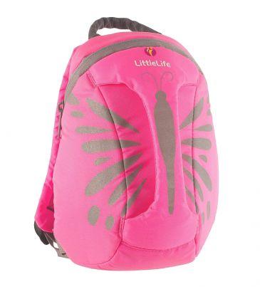 Plecaczek odblaskowy LittleLife 1-3 lata ActiveGrip motylek