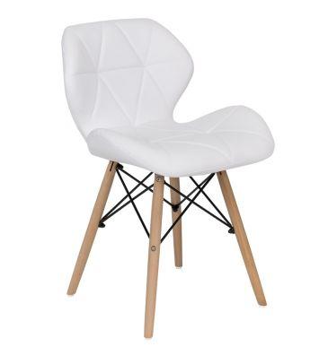 Krzesło LCN Flavio białe