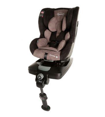 Fotelik samochodowy 0-18 kg Babysafe Westie grey