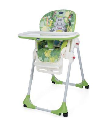 Krzesełko do karmienia Chicco Polly Easy happy jungle