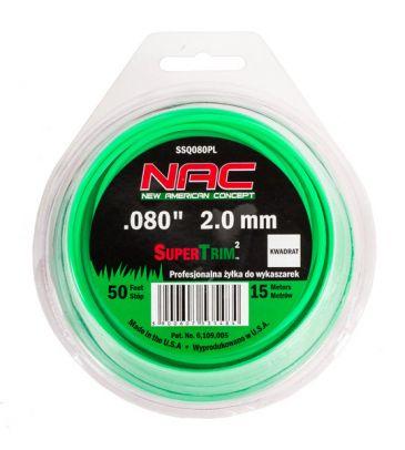 Żyłka tnąca gwiazdka 2 mm NAC CY080PL