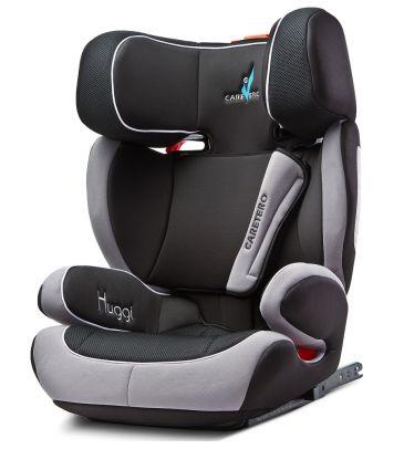 Fotelik samochodowy 15-36 kg Caretero Huggi Isofix black
