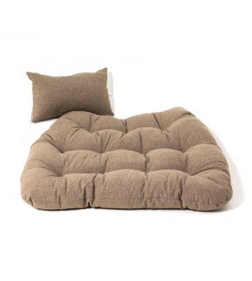 Poduszka na fotel podwieszany - PRIMA BROWN