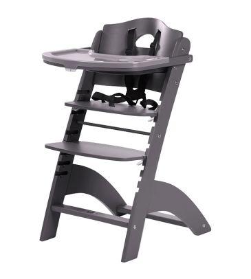 Krzesełko do karmienia Childhome Lambda 2 HCLCAN antracyt
