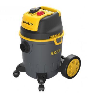 Odkurzacz przemysłowy Stanley SXVC20PTE PLUS 1200W z dodatkowymi akcesoriami