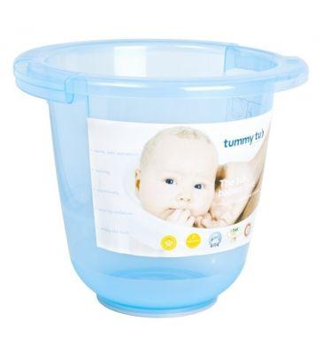 Wiaderko do kąpieli Tummy Tub niebieskie