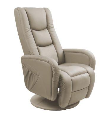 Fotel rozkładany Halmar Pulsar cappucino