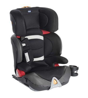 Fotelik samochodowy 15-36 kg Chicco Oasys 2/3 Fixplus EVO black night + zabawka