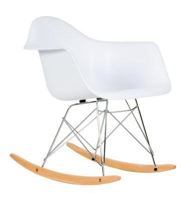 Krzesło skandynawskie Meven Allo białe