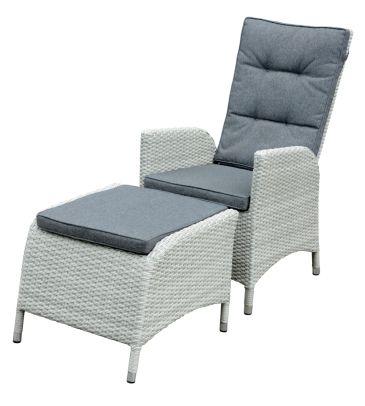 Fotel rozkładany z podnóżkiem PONTE