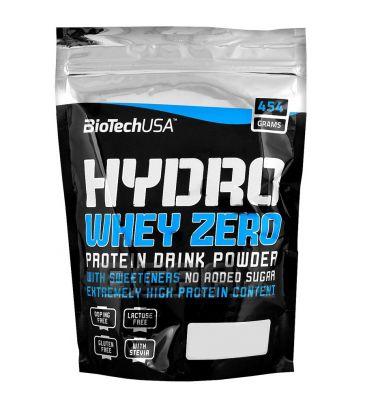 Hydrolizat białka Biotech Hydro Whey Zero 454g chocolate-hazelnut