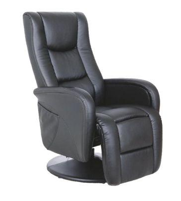 Fotel rozkładany Halmar Pulsar czarny