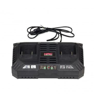 Ładowarka podwójna do akumulatorów NAC BC18x2-40-S 2x18V 4A