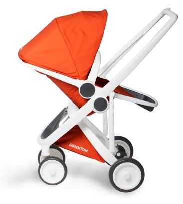 Wózek spacerowy Greentom UPP Reversible A+B+D white/orange