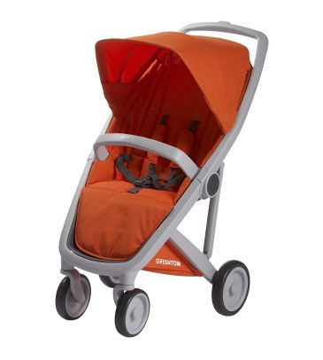 Wózek spacerowy Greentom UPP Classic A+F grey/orange