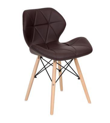 Krzesło LCN Flavio brązowe