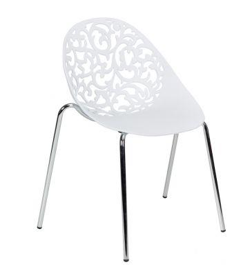 Krzesło LCN Mondo białe