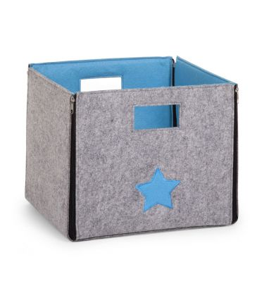 Składane pudełko Childhome CCFSBST turkusowe