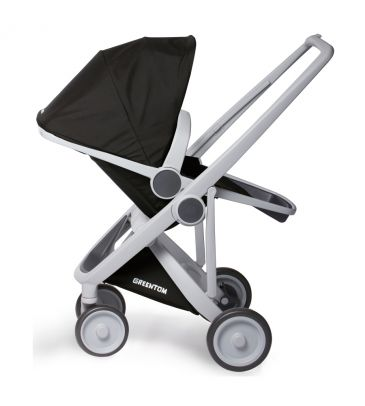 Wózek spacerowy Greentom UPP Reversible A+B+D grey/black