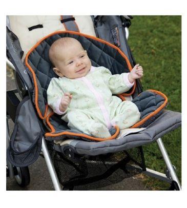 Wkładka do wózka Sunshine Kids Kids Soft Ride 30180 grey/orange WYPRZEDAŻ