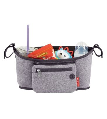 Organizer do wózka Skip Hop Grab and Go heather grey