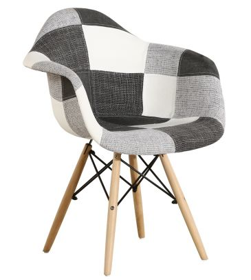 Krzesło patchwork FCS Sato 13