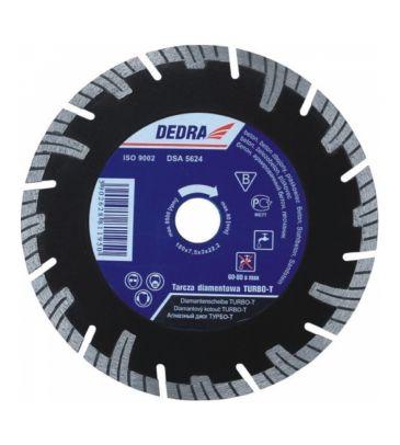 Tarcza diamentowa segmentowa Turbo-T DEDRA H1197E 230mm/25,4mm